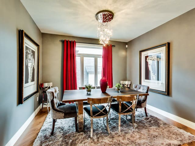 Image of Hickory Heights Model Home Dining Room
