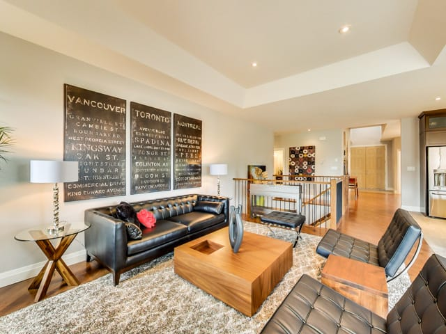 Image of Hickory Heights Model Home Interior
