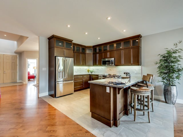 Image of Hickory Heights Model Home Kitchen