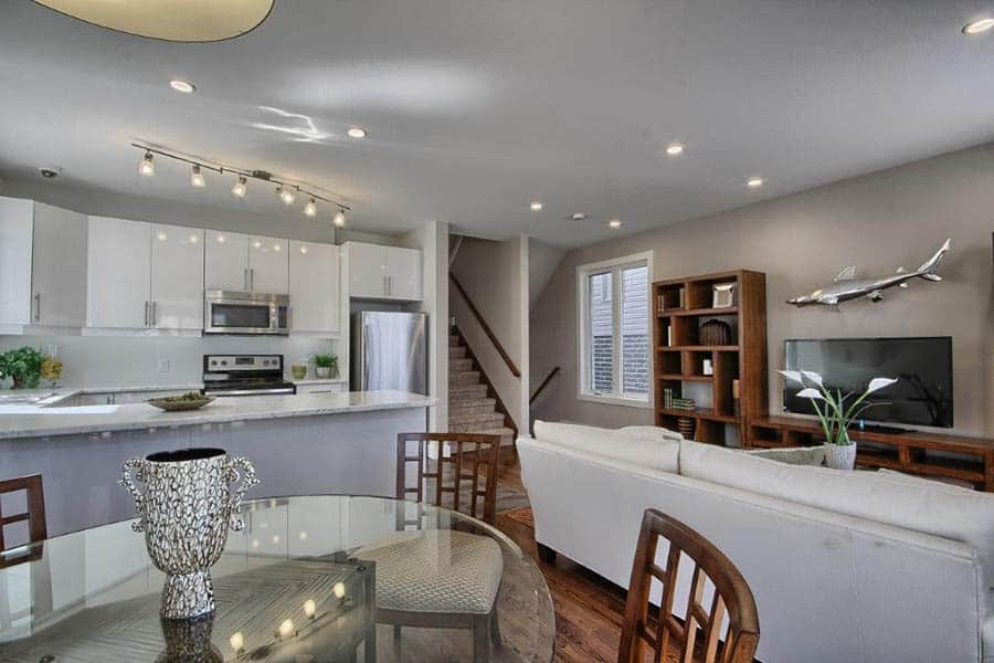 Image of Open Concept Dining Room