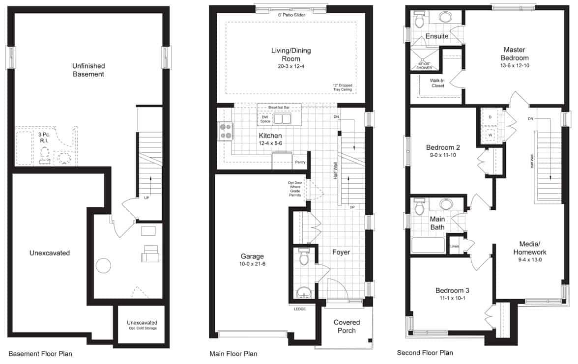 Image of Monterey Model Floor Plan