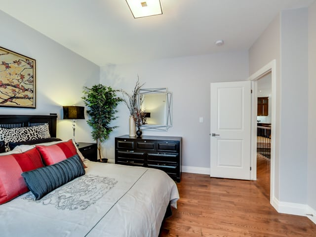 Image of Hickory Heights Model Home Bedroom