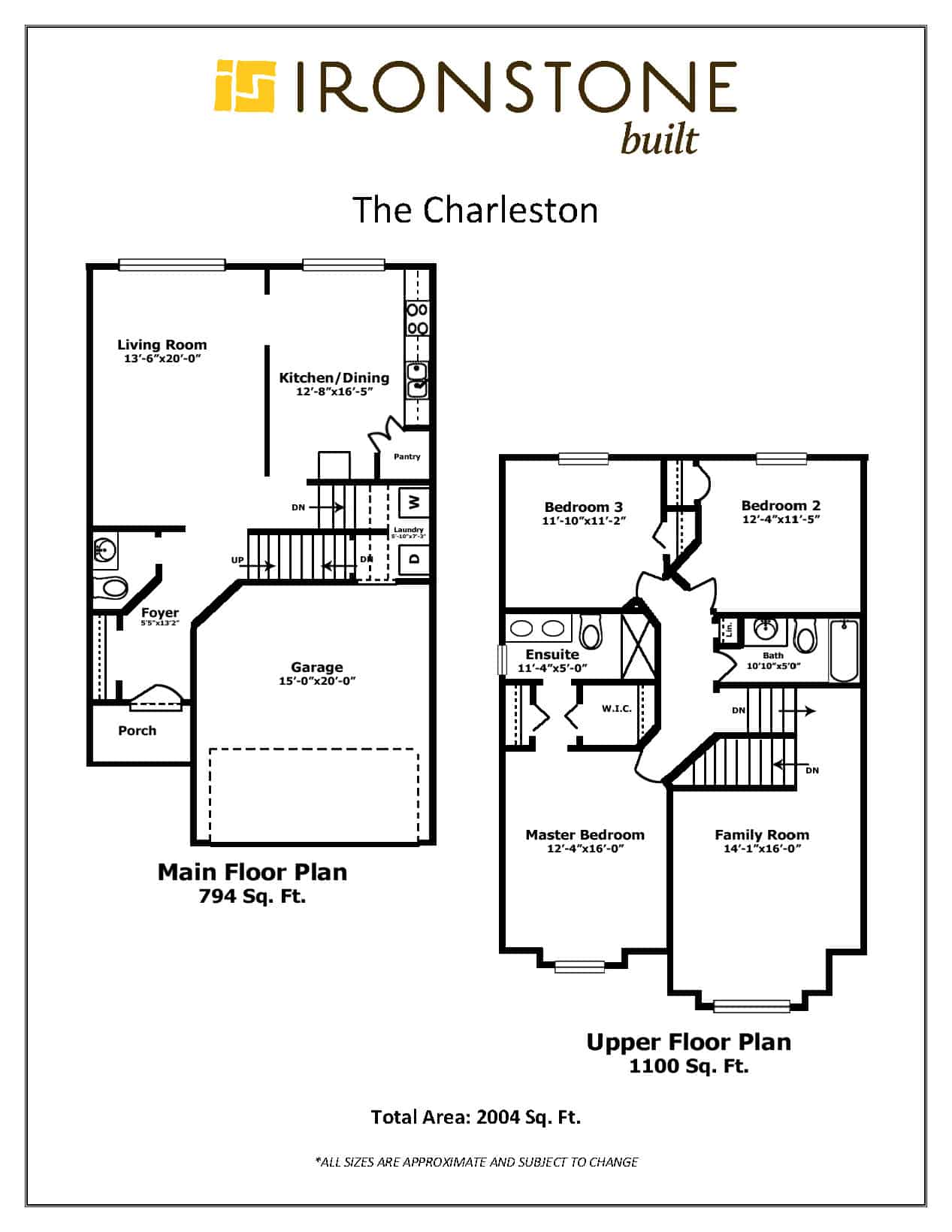 Image of Charleston Floor Plan