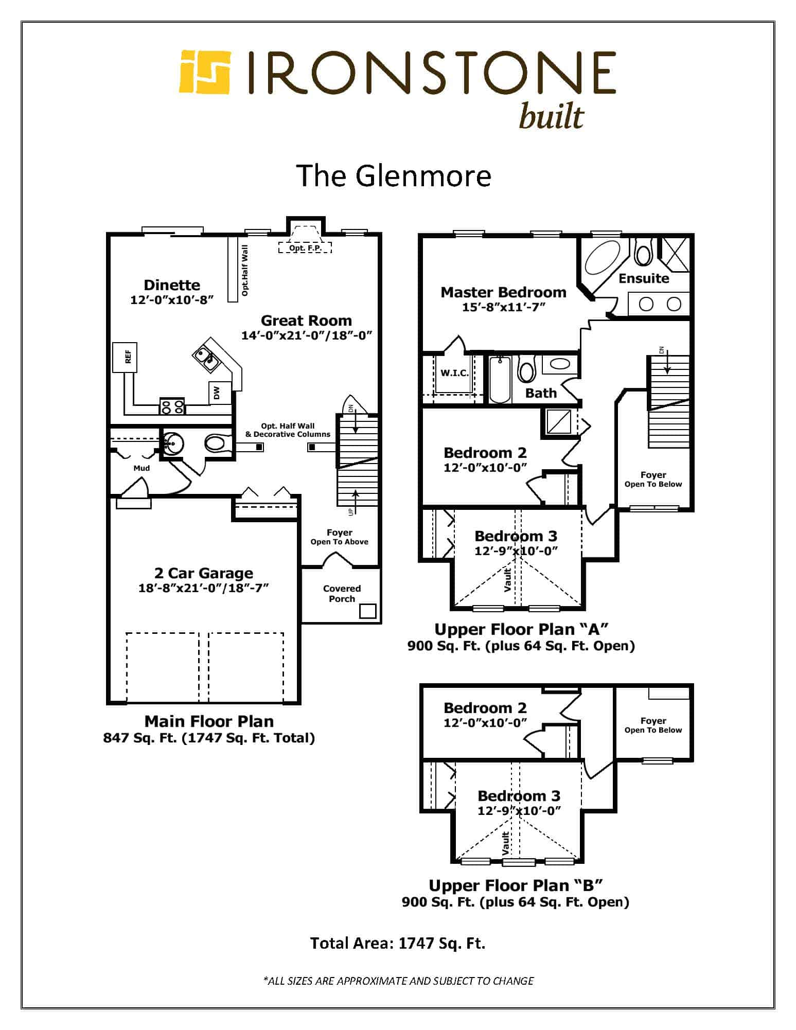 Image of Glenmore Floor Plan