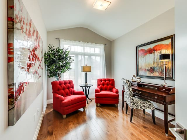 Image of Hickory Heights Model Home Office