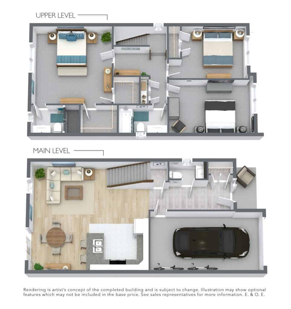 The Catalina New Home 3D Floor plan