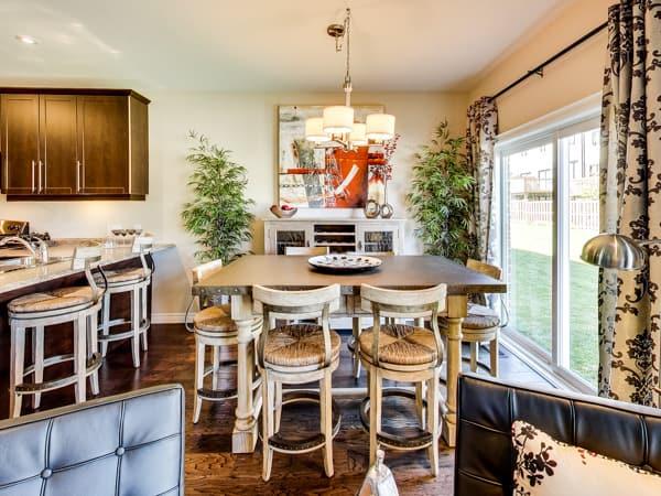Image of Oakridge Crossing Model Home Dining Room