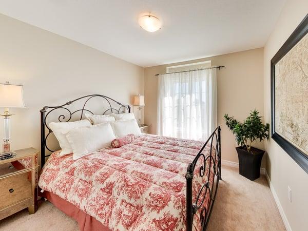 Image of Oakridge Crossing Model Home Bedroom