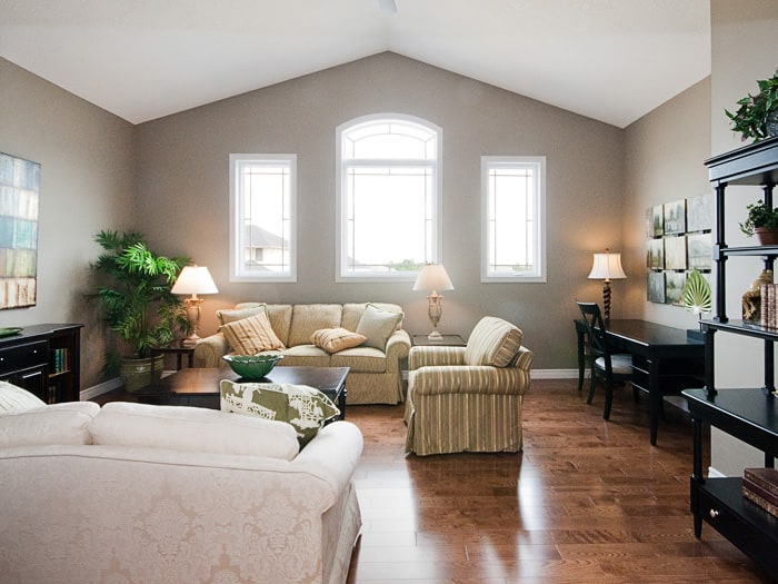 Image of Hyde Park Meadows Model Home interior