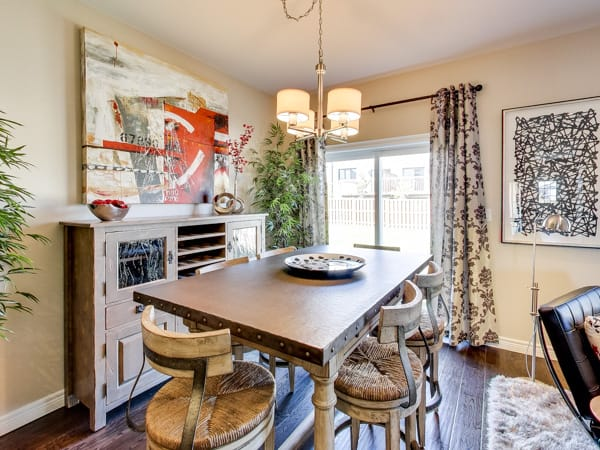 Image of Oakridge Crossing Model Home Dining Room