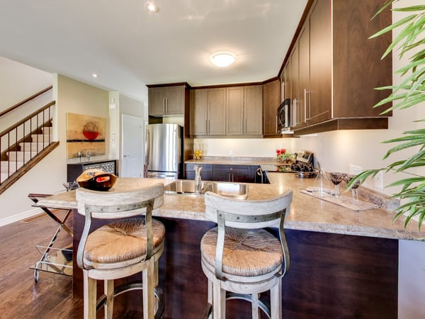 Image of Oakridge Crossing Model Home Kitchen