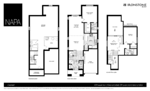 Image of NAPA Floor Plan for Carmel Model