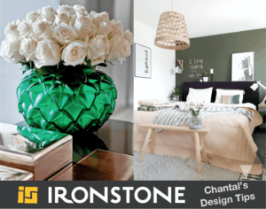 Nicely decorated Ironstone home interior