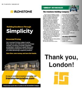 Articles from the London Free Press about Ironstone