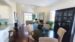 Living Room of Carmel Home