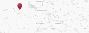 London Area Map - NAPA Location