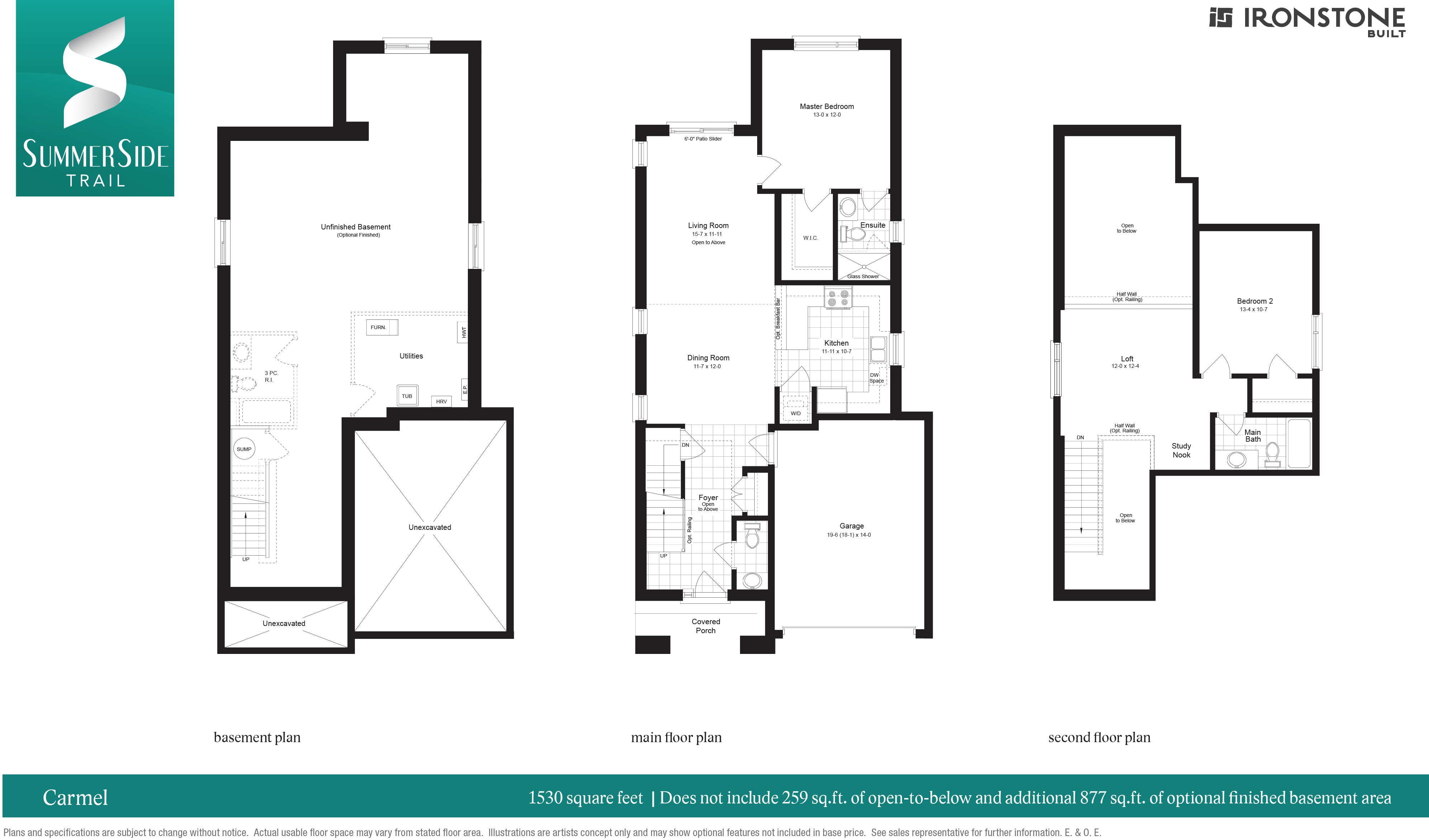 The Carmel Floor Plan
